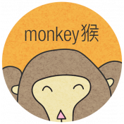 Chinese New Year Zodiac Definition- Monkey