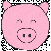 Chinese New Year Zodiac Animal- Pig