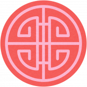 Chinese New Year Coin- Pink