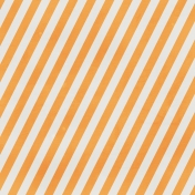 Stripes 89- Orange & White