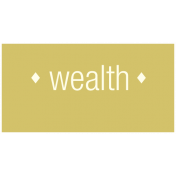 Chinese New Year Label- Wealth