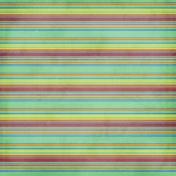 Stripes 66 Paper- Teal & Purple