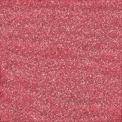 Be Mine- Pink Glitter Paper