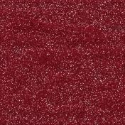 Be Mine- Dark Red Glitter Paper