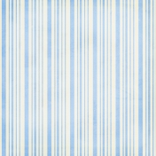 Stripes 52 Paper- Blue & White