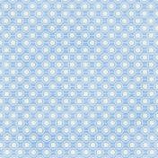 Geometric 05- Blue & White