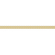 Medium Ribbon - Polka Dots 02 - Yellow & Blue