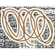 Egypt Doodle- Dark Brown