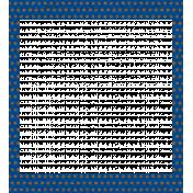 Egypt Frames- Polka Dots