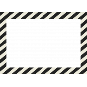Egypt Frames- Large Diagonal Stripes