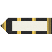 Egypt Tags- Black & Yellow Pointer