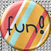 Metal Fun Button