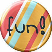 Metal Fun Button