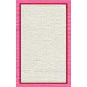 Egypt Tags- Pink & Red Note Card