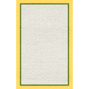 Egypt Tags- Yellow & Green Note Card