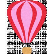 Hot Air Balloon- Pink Balloon
