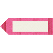 Egypt Tags- Pink & Red Pointer