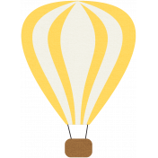 Hot Air Balloon- Yellow Balloon