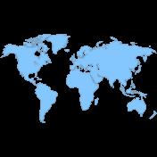 Egypt Transparencies- World Map