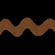 Egypt Bow- Brown RicRac