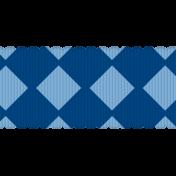 Egypt Ribbon- Blue Diamond