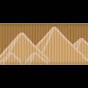 Egypt Ribbon- Brown
