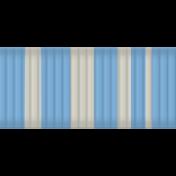 Egypt Ribbon- Blue & White Stripes