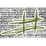 Egypt Doodle- Green Number