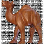 Egypt Wood- Camel