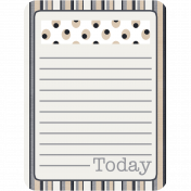 Berlin Journal Card 1