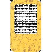 Egypt Slide- Yellow & Brown