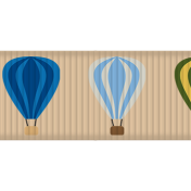 Hot Air Balloon- Balloon Ribbon