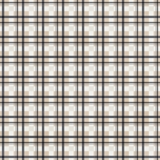Plaid 35 Paper- Gray & Tan