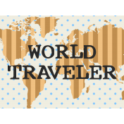Egypt- World Traveler Journal Card