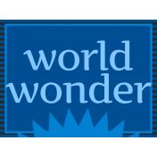 Egypt- World Wonder Journal Card