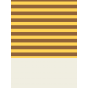 Egypt- Striped Journal Card