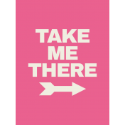 Egypt- Take Me There Journal Card