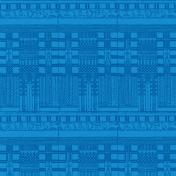 Egypt- Glyphs Paper- Blue