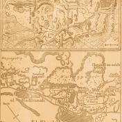 Egypt- Map Paper- Brown & Peach