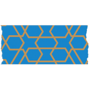 Egypt- Blue Washi Tape