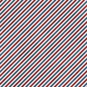 Airmail Striped Paper