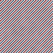 Airmail Striped Paper