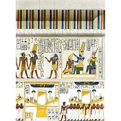 Egypt Hieroglyphs- White Wall