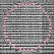 You+Me Circle Stamp