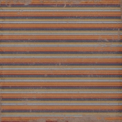 Stripes 51 Paper- Brown & Orange