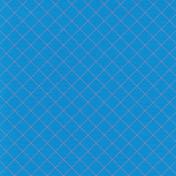 Egypt- Plaid Paper- Diagonal- Blue