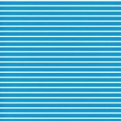 Egypt- Stripes Paper- Blue & White
