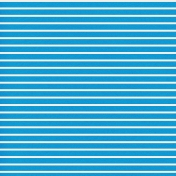 Egypt- Stripes Paper- Blue & White
