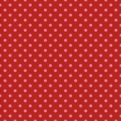 Egypt- Polka Dots Paper- Red & Pink