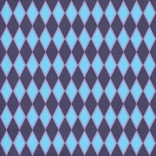 Argyle 26- Blue & Purple
